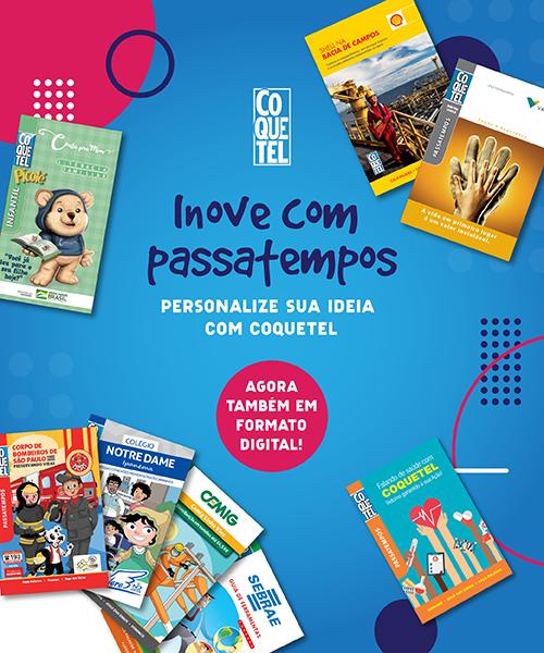 Personalize sua revista com Coquetel! Agora, também em formato digital!